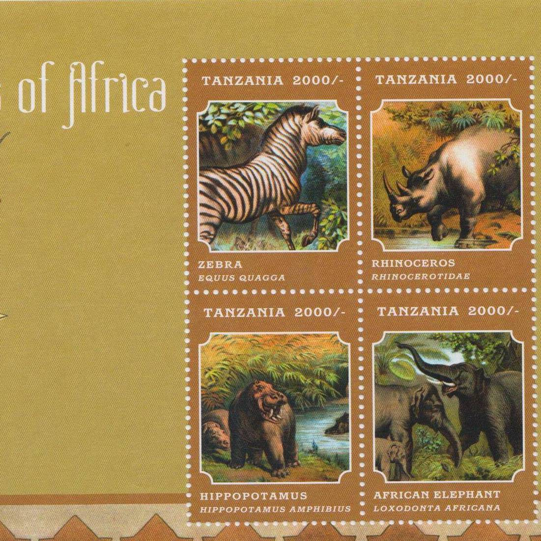 Tanzania Stamps