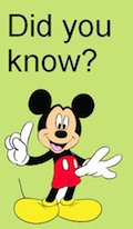 Mickey - Did you know?