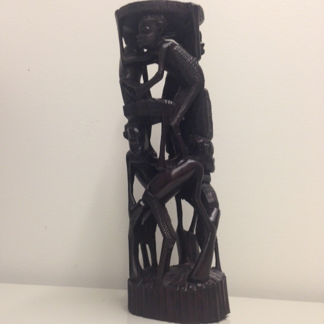 The Family Tree Wood Carving - Ebony or Mpingo (in Swahili)